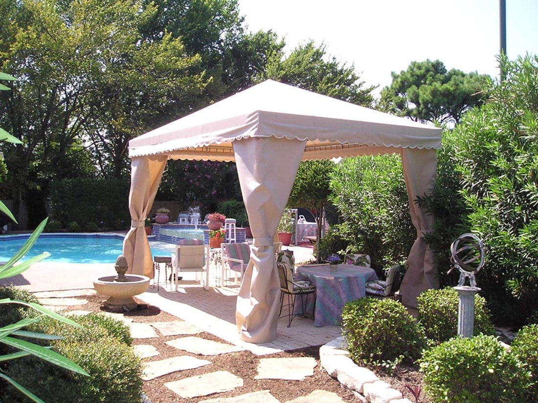 residential cabanas u0026 shade structures dallas fort worth